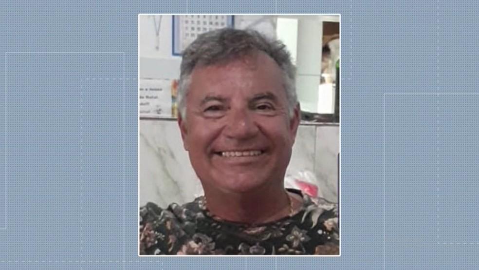 Empresário morto a tiros na praia do Bessa, em João Pessoa — Foto: Reprodução/TV Cabo Branco