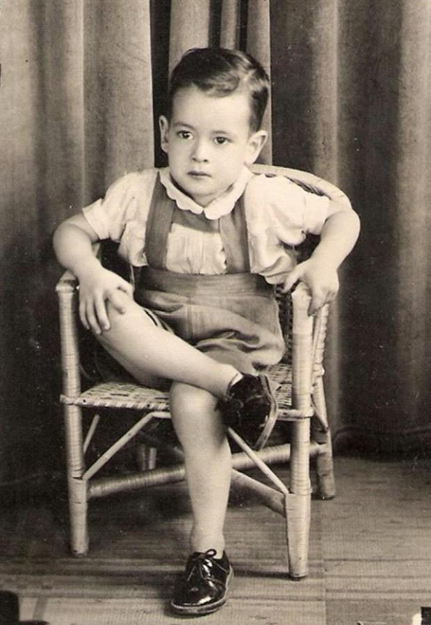 Ney Matogrosso na infância (Foto: Arquivo Pessoal)