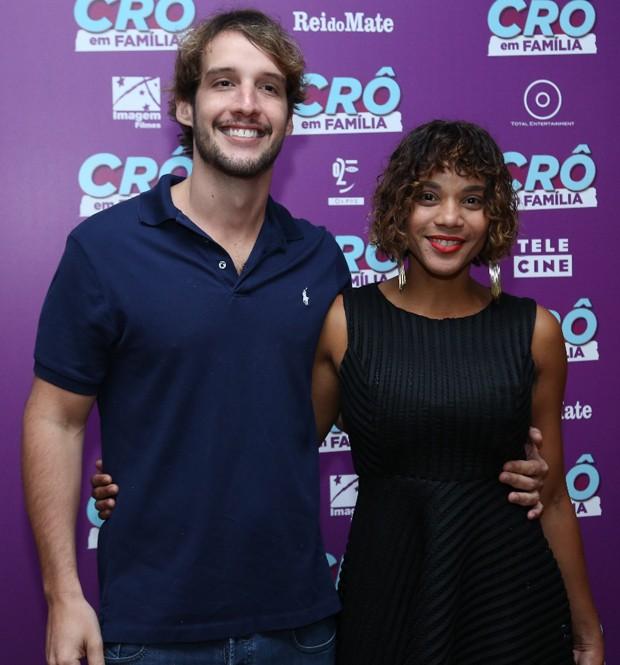 Aparecida Petrowky e Diogo D Avila (Foto: Wallace Barbosa/AgNews)