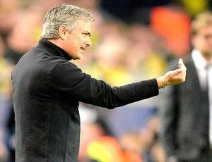 Jose Mourinho jogo Borussia Dortmund Real Madrid  (Foto: AP)