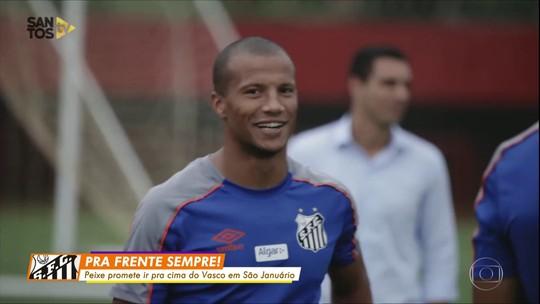 Com vantagem, Santos enfrenta o Vasco pela Copa do Brasil