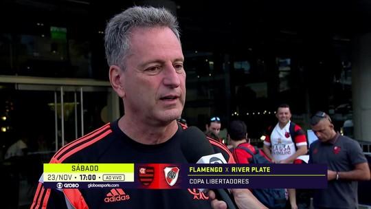 """Landim revela reação de Jesus com festa da torcida do Flamengo: """"Ficou sorrindo"""""""