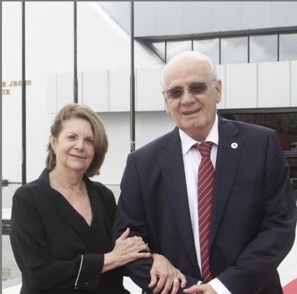 Lydia e Serafim Corrêa — Foto: Divulgação