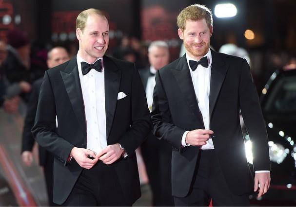 Príncipe William será padrinho de casamento de Harry (Foto: Reprodução)