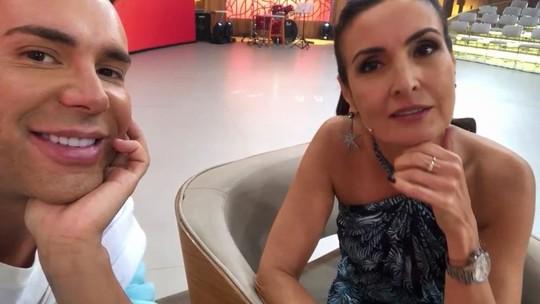 Matheus Mazzafera 'invade' a Globo e revela segredos de Fátima Bernardes e do elenco do 'Vídeo Show'