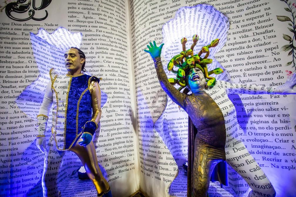 A transformação pelos livros, da Águia de Ouro — Foto: Fabio Tito/G1