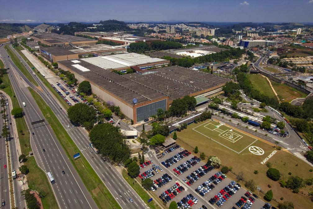 Fábrica em São Bernardo do Campo (SP) é a 1ª da Volkswagen fora da Alemanha (Foto: Divulgação)