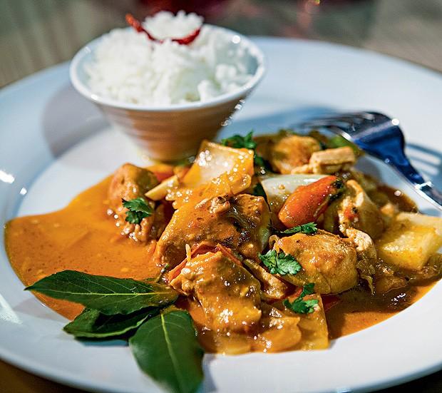 Chicken thai (Foto: Lufe Gomes/Casa e Comida)