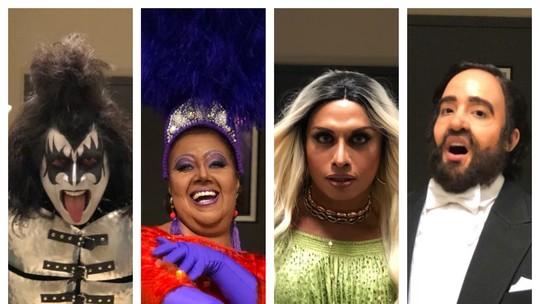 Caracterização, voz e corpo: veja a preparação dos participantes do 'Show dos Famosos'