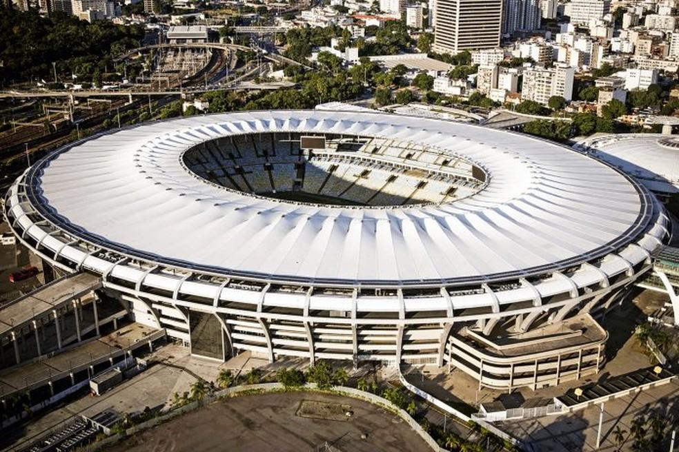 Estádio do Maracanã, no Rio de Janeiro — Foto: Foto: Delmiro Junior/Photo Premium/Folhapress