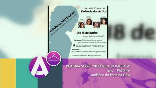 Violência doméstica é tema de palestra em Rio Grande