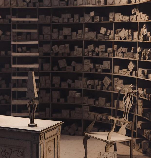 Loja de Varinhas Olivaras, de Harry Potter (Foto: Melbourne School of Design/ Reprodução)