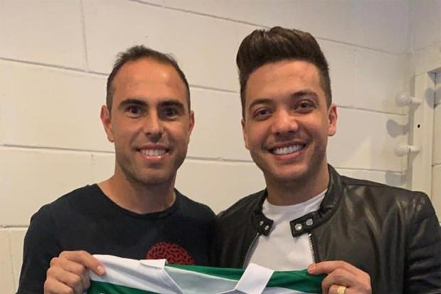 Wesley Safadão e Bruno César (Foto: Reprodução/Instagram)