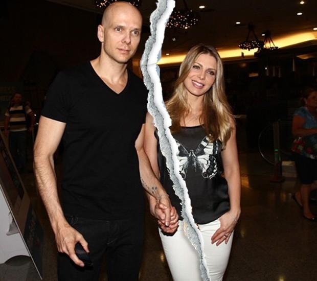 Sheila Mello e Fernando Scherer (Foto: Claudio Augusto/Brazil News)