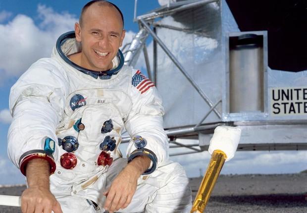 O astronauta Alan Bean (Foto: Divulgação Nasa)
