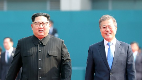 Foto: (Korea Summit Press Pool/Pool via Reuters)