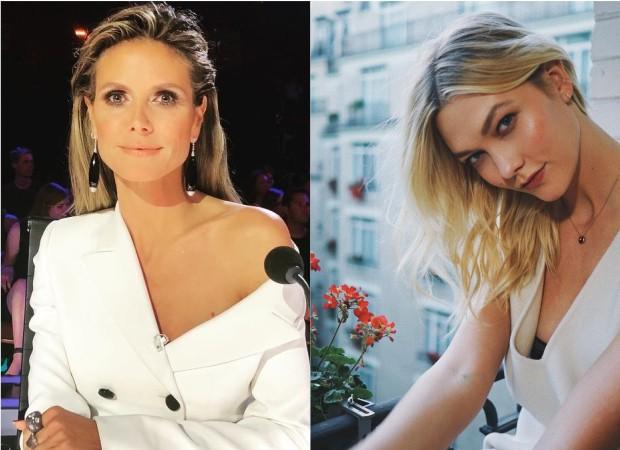 Heidi Klum é substituída por Karlie Kloss (Foto: Instagram/Reprodução)
