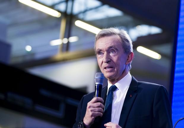 Bernard Arnault, CEO da LVMH  (Foto: Getty Images)
