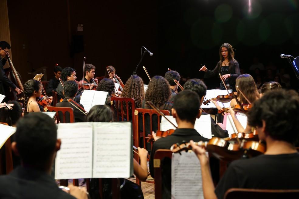 Festival Eleazar de Carvalho traz apresentações de música erudita para a Unifor. (Foto: Ares Soares/Unifor)
