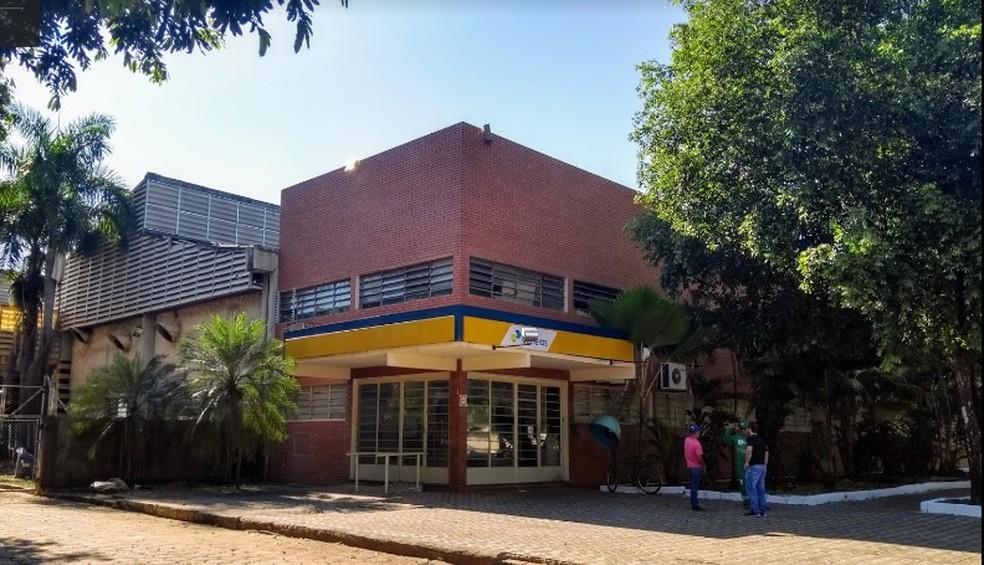 Central de Distribuições dos Correios, em Várzea Grande.  — Foto: Google Maps