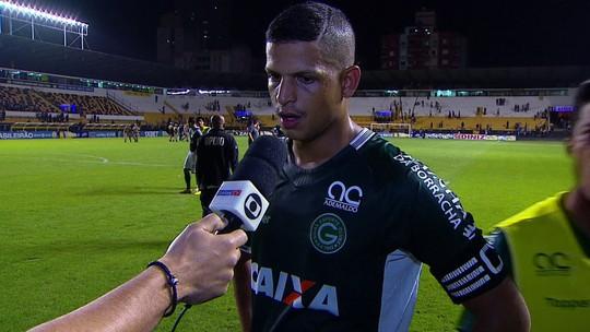 """Lucão analisa empate com gosto de derrota para o Goiás: """"Não pode deixar isso acontecer"""""""