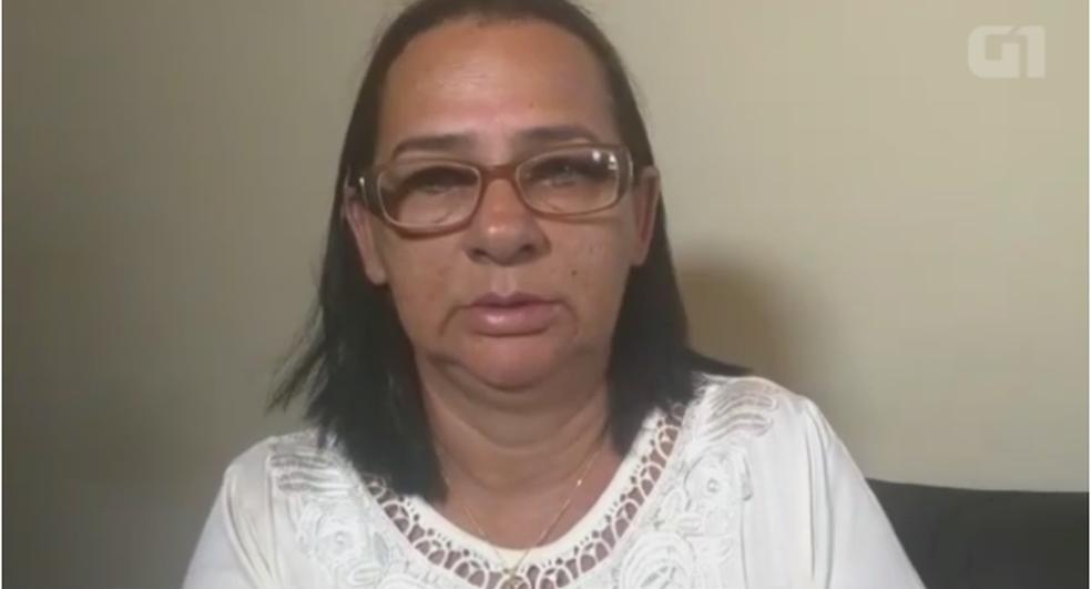Maria Luzia Silva Carvalho da Costa, mãe de Ivanice Carvalho da Costa, morta durante perseguição policial em Lisboa (Foto: Reprodução/G1)