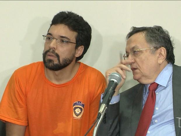 Defesa de Lucas Porto tenta provar que acusado possui problemas mentais (Foto: Reprodução/TV Mirante)