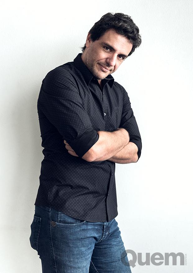 Rodrigo Lombardi (Foto: Ramón Vasconcelos)