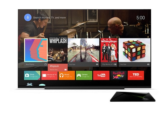 Com interface familiar, Android TV é intuitivo e fácil de usar (Foto: Divulgação/Google)