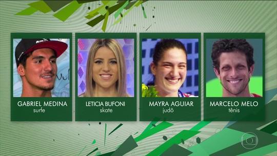 """Escolha o """"Atleta da Torcida"""" do Prêmio Brasil Olímpico"""