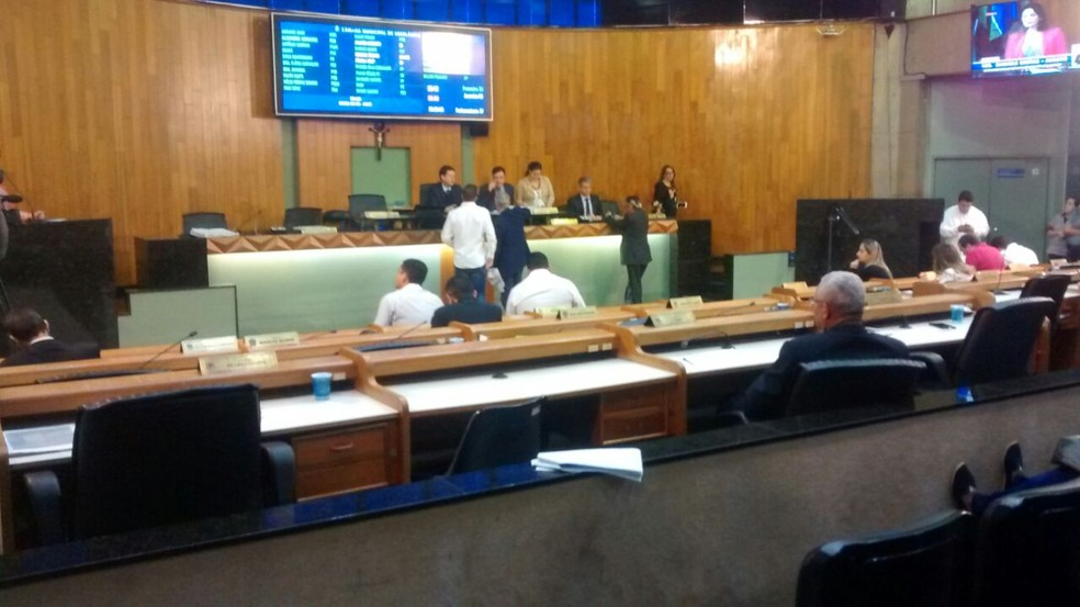 -  Segunda discussão da LDO ocorreu em sessão extraordinária  Foto: Pedro Torres/G1