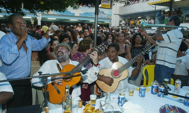 Samba do Trabalhador lotado no Clube Renascença, no Andaraí