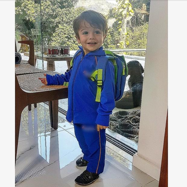 Rocco, filho de Rafa Brites e Felipe Andreoli (Foto: Reprodução/Instagram)