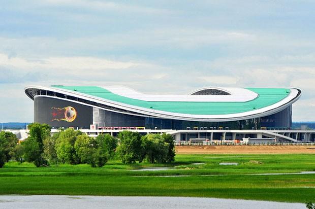 Estádio Rubin Kazan, na Rússia (Foto: Divulgação)