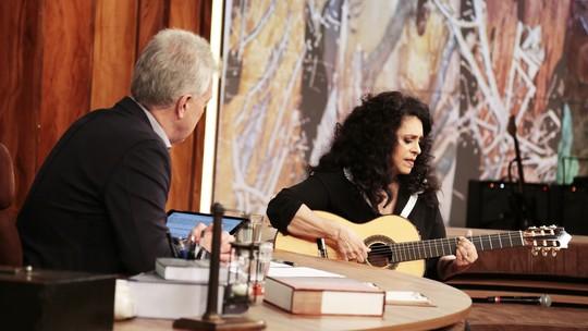 Convidada do 'Conversa com Bial', Gal Costa bomba na web