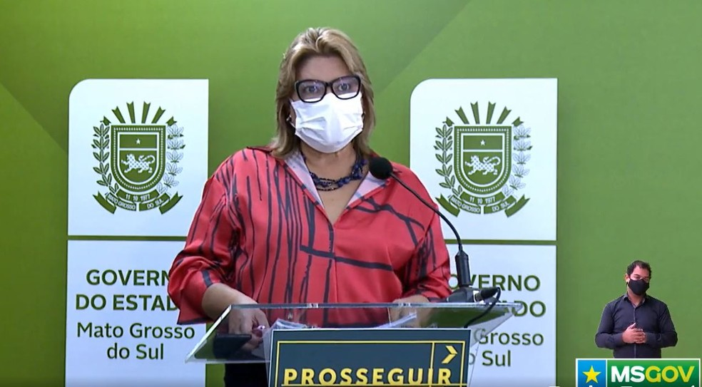 Secretária estadual adjunta de Saúde, Christine Maymone — Foto: Redes Sociais/Reprodução