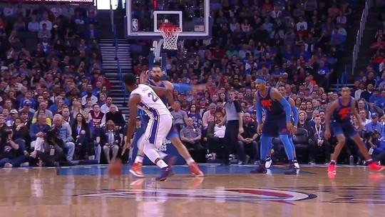 George e Westbrook somam 68 pontos, e Thunder vence a oitava seguida