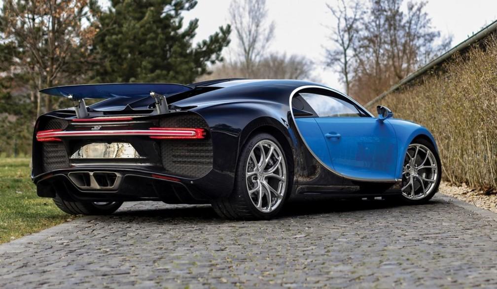 Bugatti Chiron (Foto: Divulgação)
