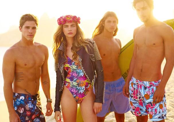Cara Delevingne fotografada por J.R. Duran para Vogue Brasil de novembro de 2012 (Foto: Arquivo Vogue)