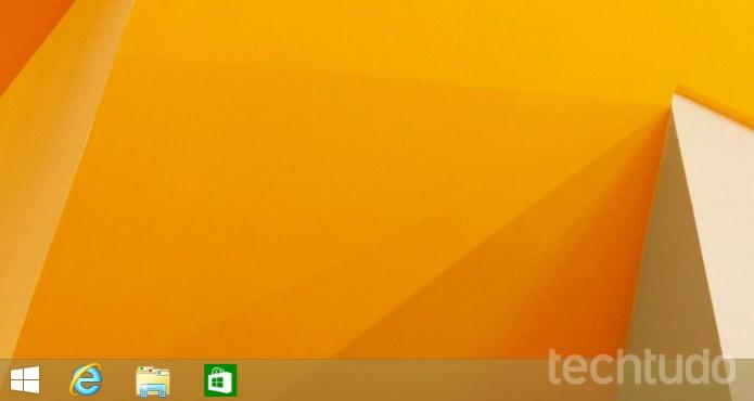 Já é possível colocar qualquer app Metro na barra de tarefas (Foto: Reprodução/Edivaldo Brito)