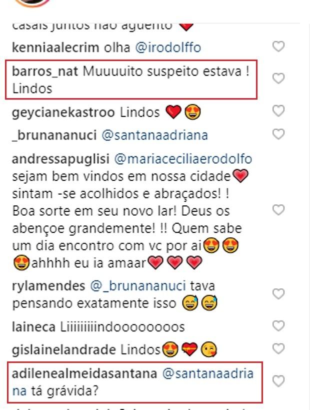 Fãs questionam terceira gravidez de Adriana SantAnna (Foto: Reprodução/Instagram)