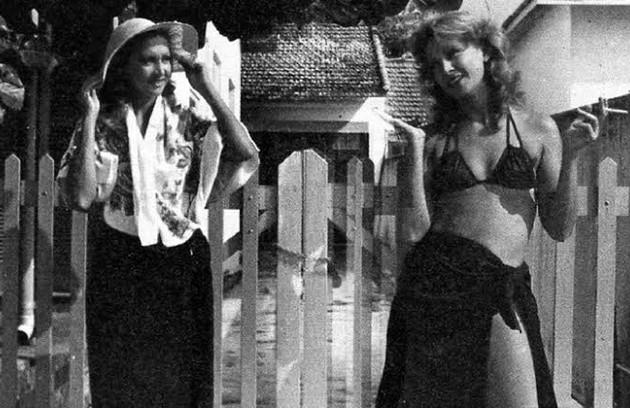 """Antes de Gloria Pires, as irmãs foram interpretadas por Eva Wilma na versão original de """"Mulheres de areia"""", que foi ao ar em 1973 na extinta TV Tupi (Foto: Divulgação)"""