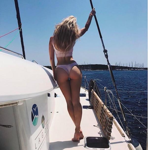 A modelo Lottie Moss, irmã da também modelo Kate Moss (Foto: Instagram)