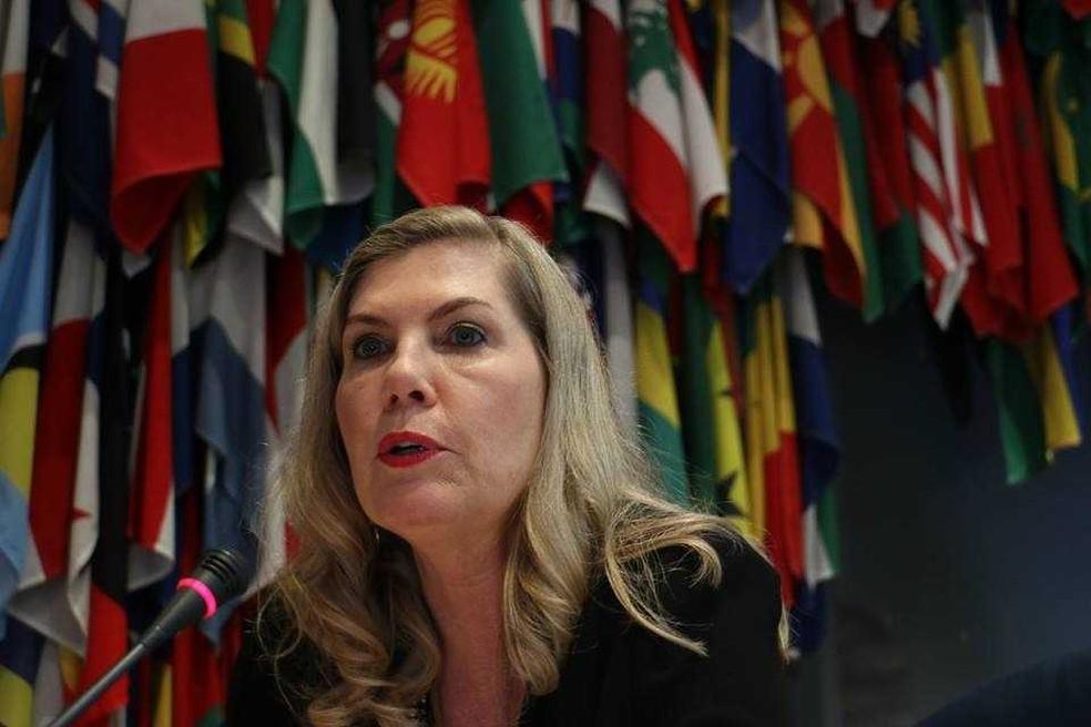 Regina Vanderlinde é a terceira mulher a ocupar a presidência da principal entidade de vinhos mundial de forma consecutiva (Foto: Divulgação/OIV)