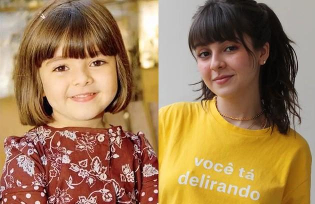 Klara Castanho começou aos 6 anos na série 'Mothern', do GNT. Hoje, aos 20, acaba de estrear o filme 'Confissões de uma garota excluída', na Netflix (Foto: Reprodução)
