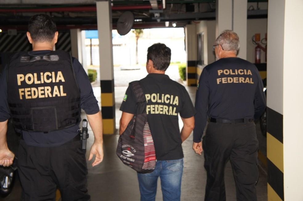 Força tarefa federal combate fraudes previdenciárias no RN por meio da operação Cubo de Rubik. — Foto: PF/Divulgação