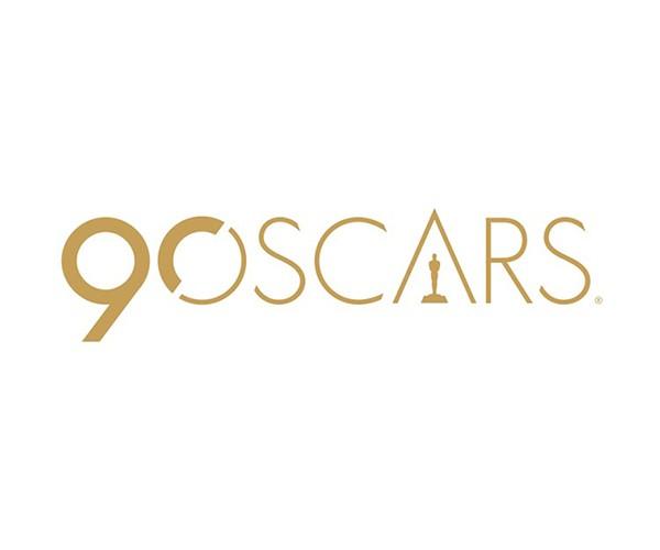 A logomarca da 90a cerimônia do Oscar (Foto: divulgação)