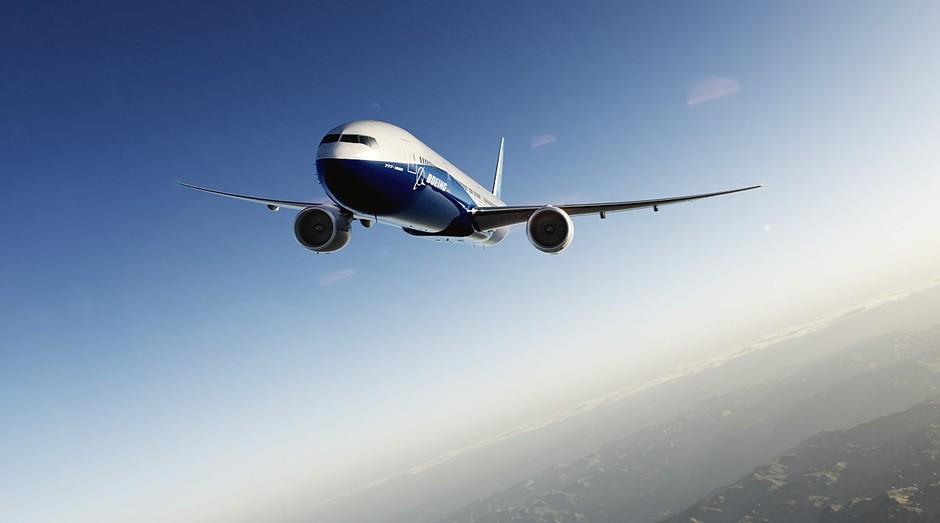 Avião da Boeing: empresa quer fazer voos autônomos (Foto: Divulgação)