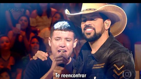 'Caldeirão': confira bastidores da participação de Fernando & Sorocaba no 'Essa Música é Minha'
