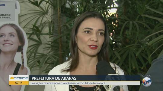 Faculdade Municipal de Araras abre inscrição de vestibular para 200 vagas